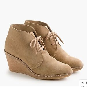 J Crew MacAlister suede wedges